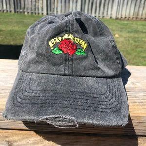 Guns N Roses Distressed American Eagle Hat
